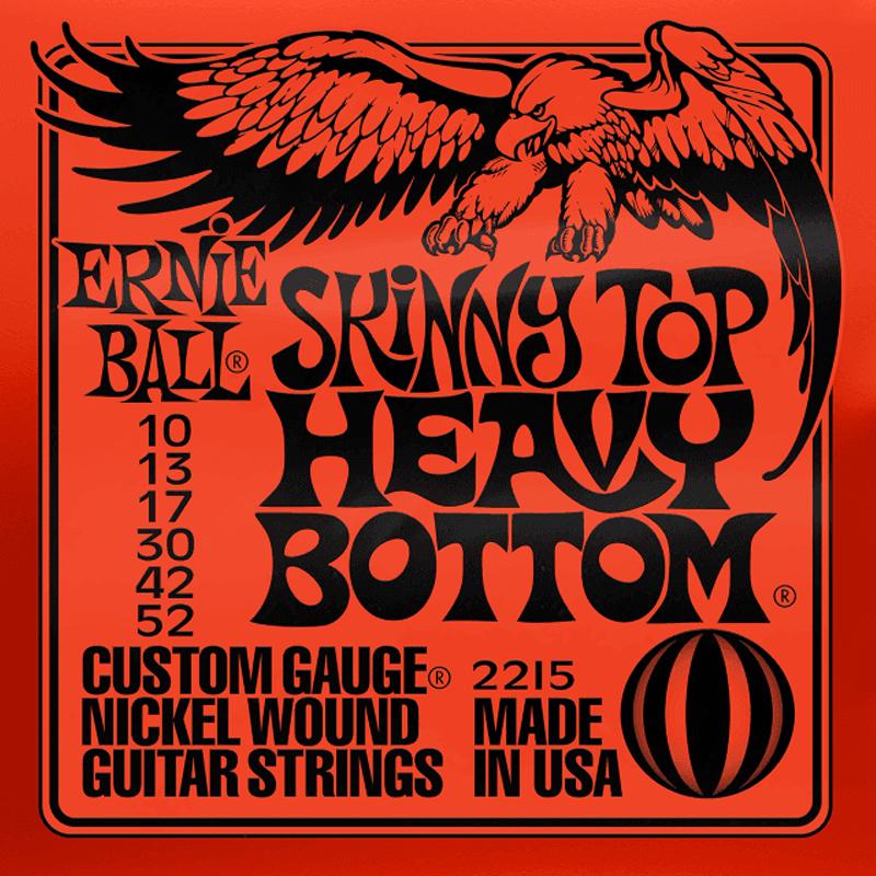 Ernie Ball Cordes de Guitare électrique, Regular Slinky, 10-52, Nickel
