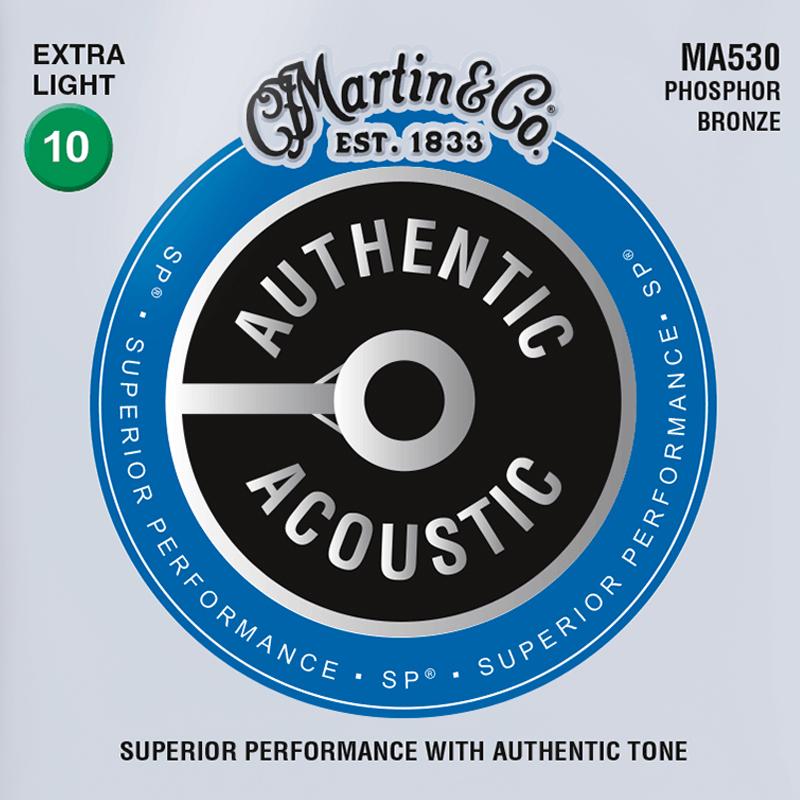 Martin Guitars MA530 Acoustic SP 92/8 Phosphor Bronze Extra Light 10-47