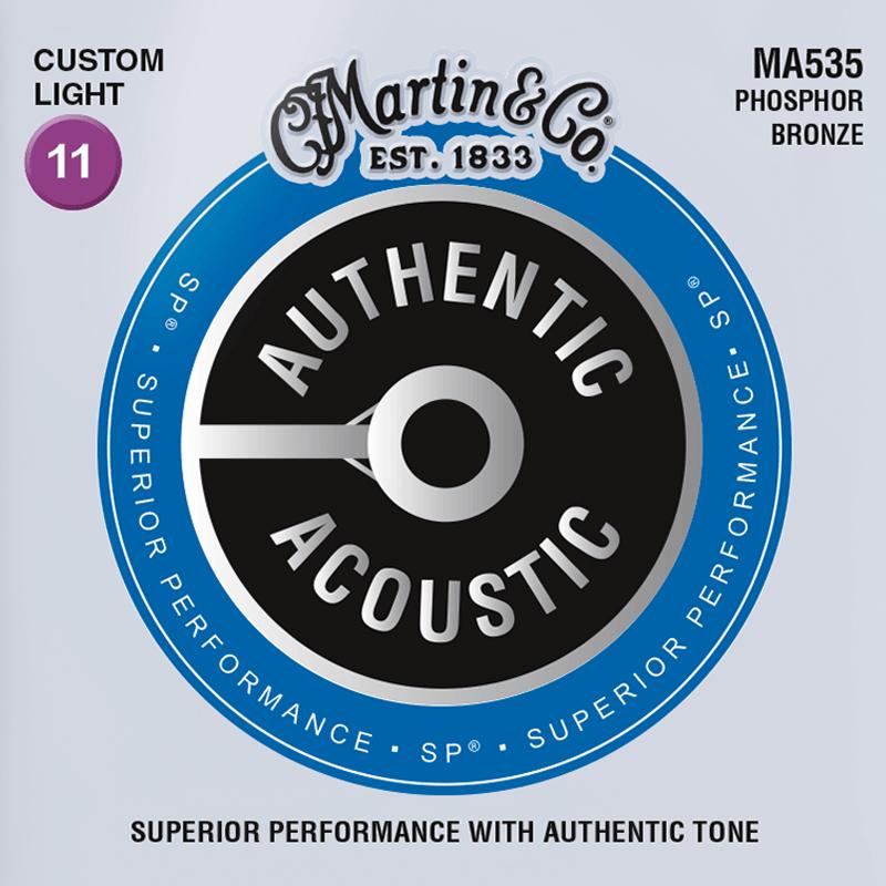 Martin Guitars MA535 Acoustic SP 92/8 Phosphor Bronze Custom Light 11-52