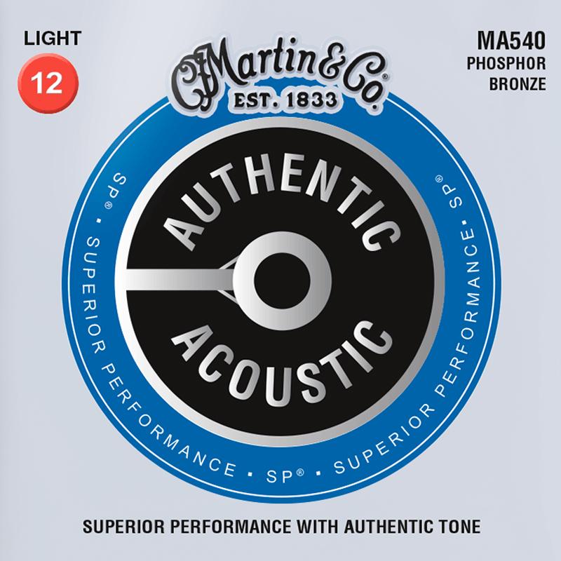 Martin Guitars MA540 Acoustic SP 92/8 Phosphor Bronze Light 12-54