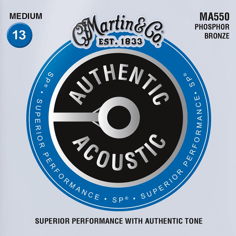 Martin Guitars MA550 Acoustic SP 92/8 Phosphor Bronze Medium 13-56