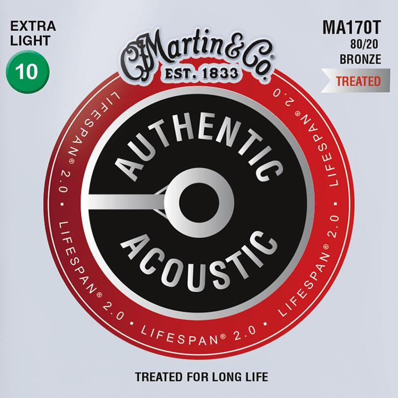 Martin Guitars MA170T Acoustic SP 80/20 Bronze Extra Light 10-47-nl