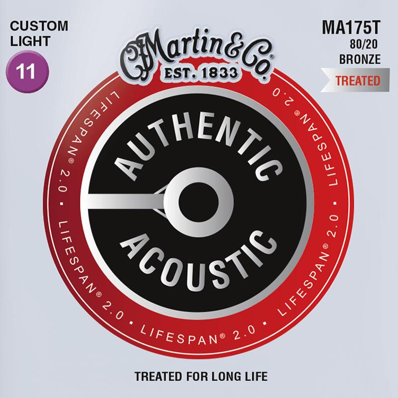 Martin Guitars MA175T Acoustic SP 80/20 Bronze Custom Light 11-52