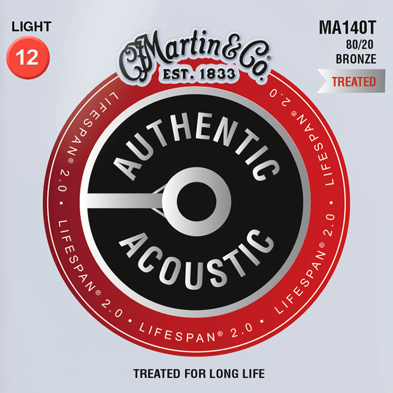 Martin Guitars MA140T Acoustic SP 80/20 Bronze Light 12-54
