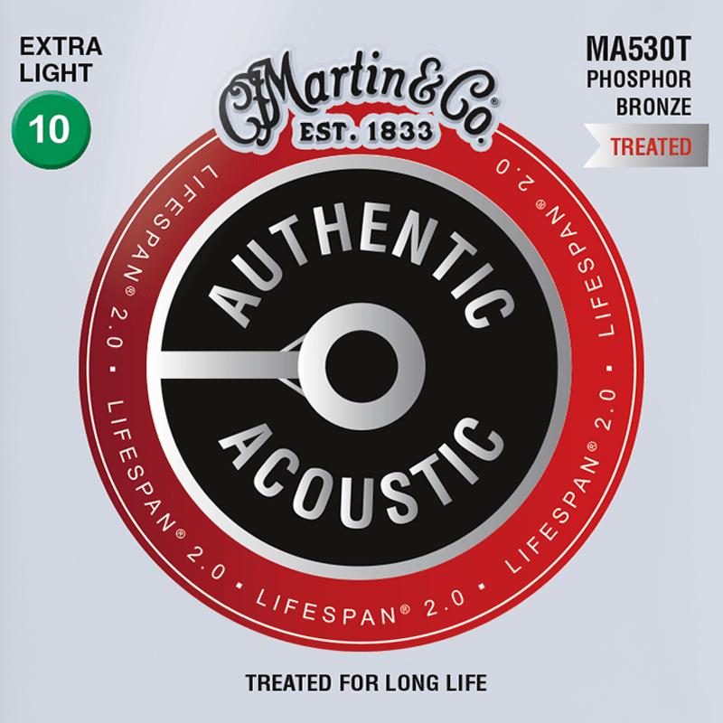 Martin Guitars MA530T Acoustic SP 92/8 Phosphor Bronze Extra Light 10-47