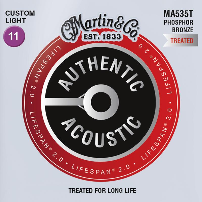 Martin Guitars MA535T Acoustic SP 92/8 Phosphor Bronze Custom Light 11-52