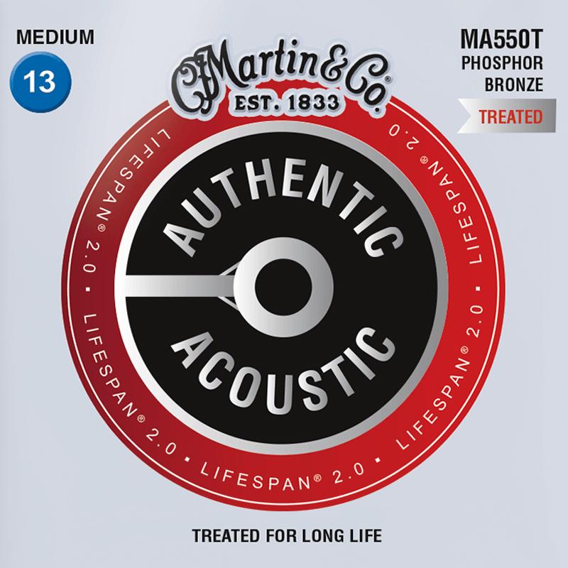 Martin Guitars MA550T Acoustic SP 92/8 Phosphor Bronze Medium 13-56