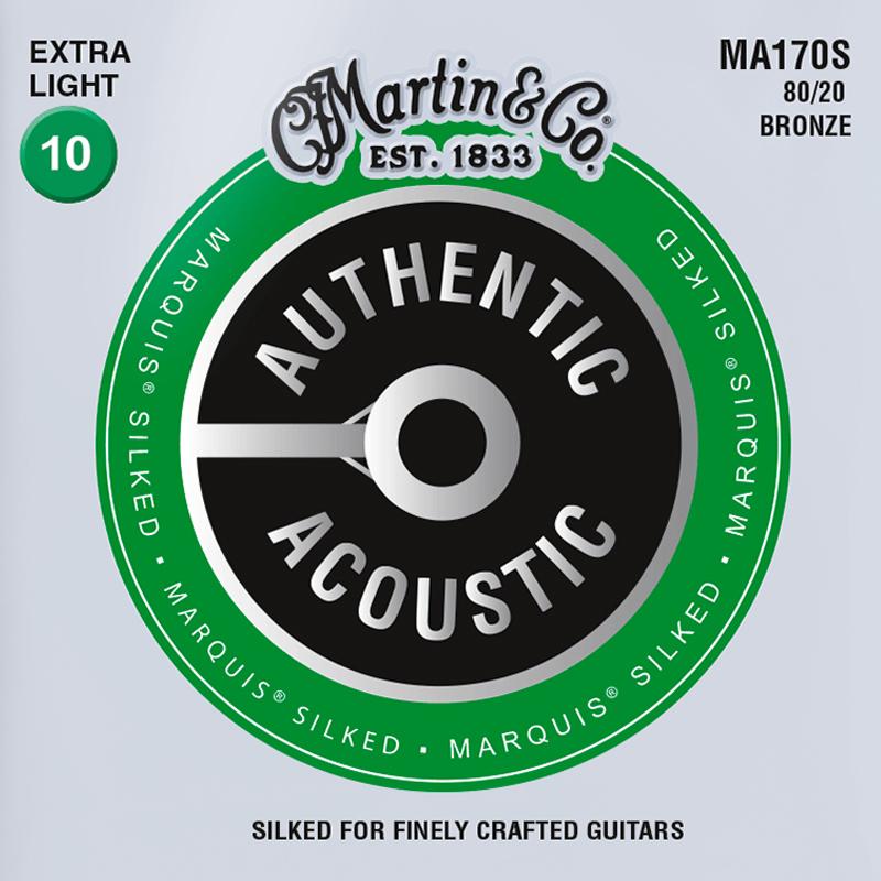 Martin Guitars MA170S Acoustic SP 80/20 Bronze Silked Extra Light 10-47