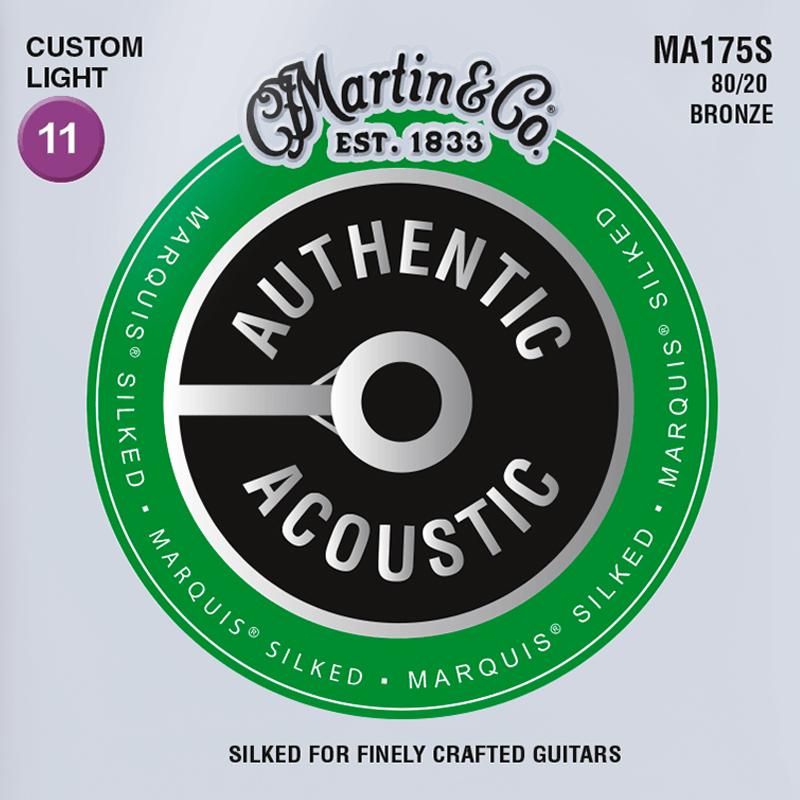 Martin Guitars MA175S Acoustic SP 80/20 Bronze Silked Custom Light 11-52
