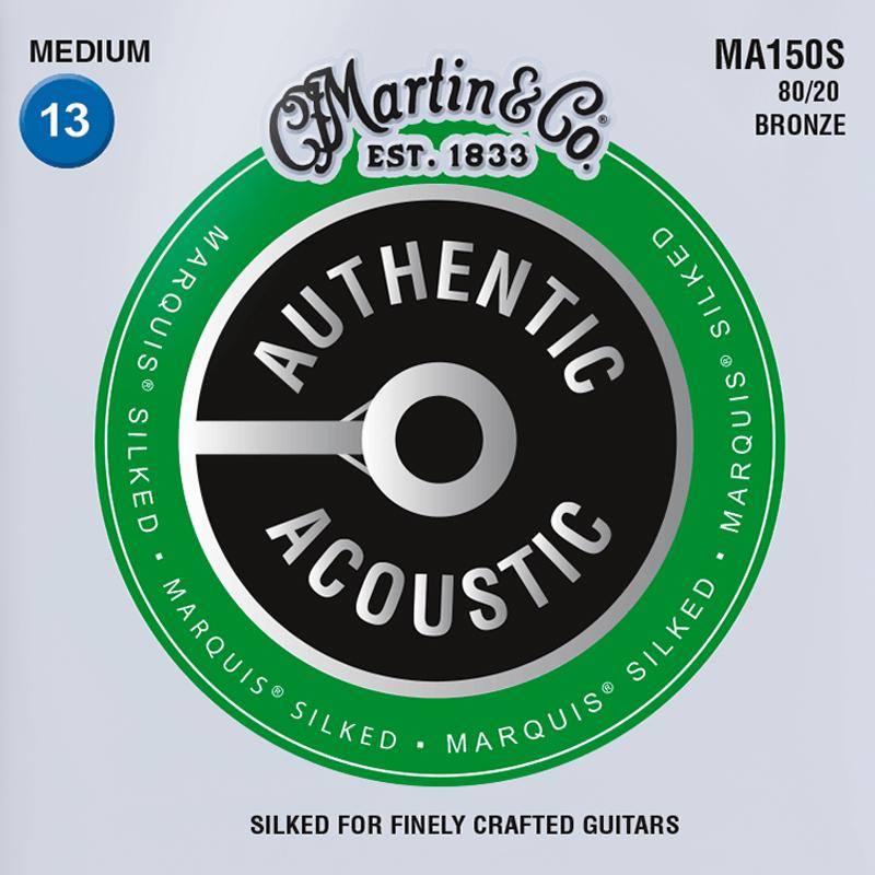 Martin Guitars MA150S Acoustic SP 80/20 Bronze Silked Medium 13-56