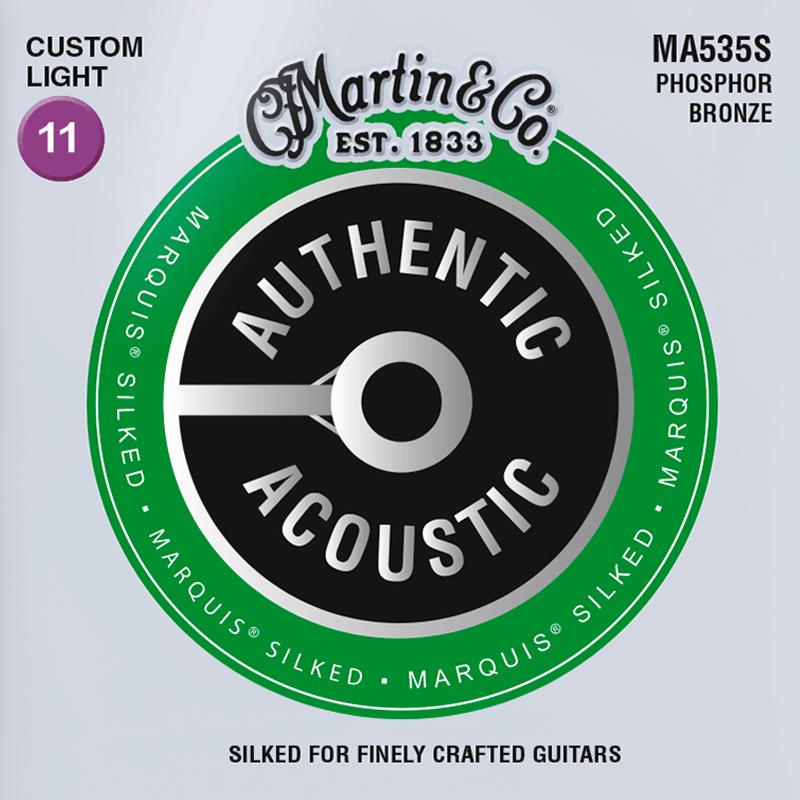 Martin Guitars MA535S Acoustic SP 92/8 Phosphor Bronze Silked Custom Light 11-52