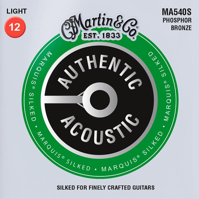 Martin Guitars MA540S Acoustic SP 92/8 Phosphor Bronze Silked Light 12-54