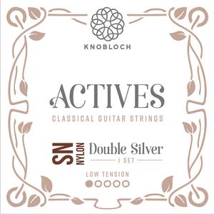 Knobloch 200ADN Actives low tension Double Silver Nylon