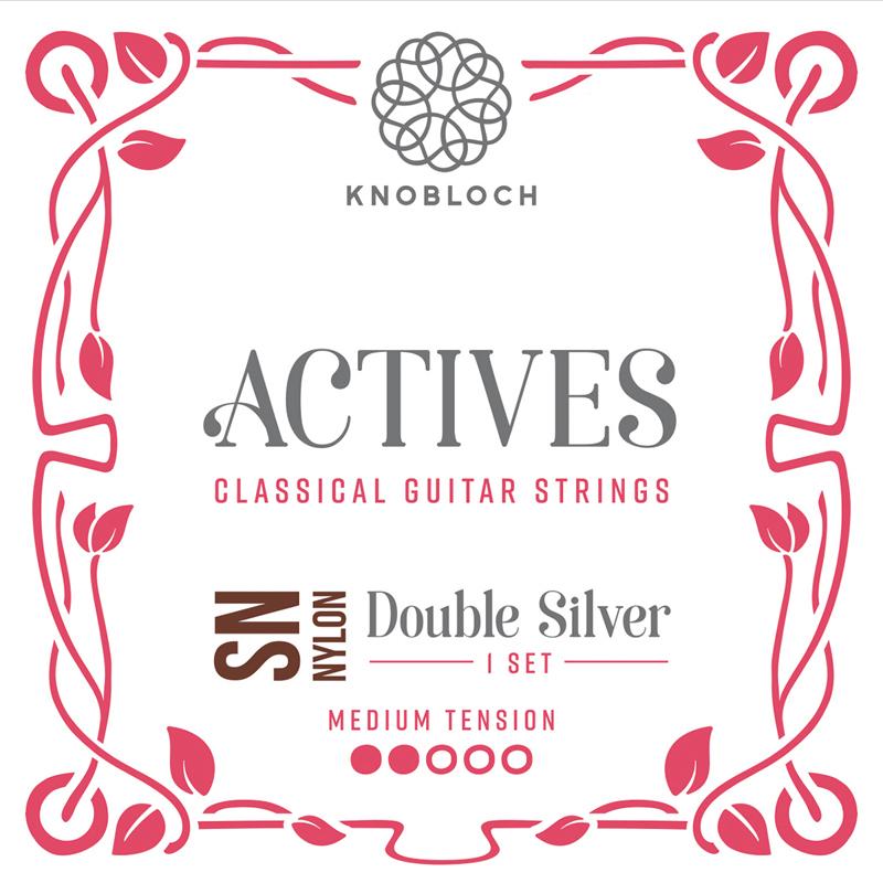 Knobloch 300ADN Actives Medium tension Double Silver Nylon