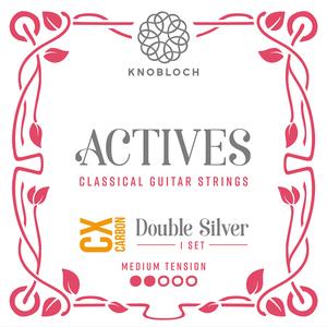 Knobloch 300ADC Actives Medium tension Double Silver CX