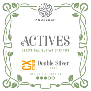 Knobloch 400ADC Actives Medium High tension Double Silver CX