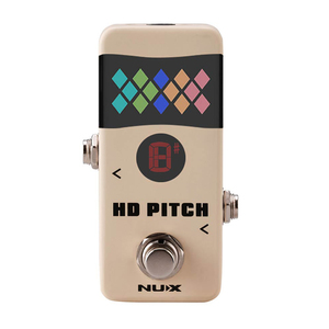 Nux HD Pitch Pedal Tuner Stemapparaat guitare
