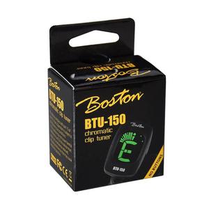 Boston BTU150 Accordeur clip pour guitare/bass/ukulélé