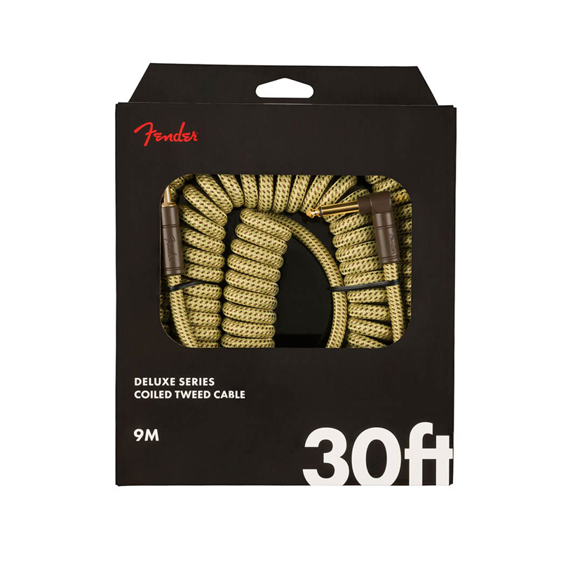 "Fender Deluxe Coil Cable, câble pour guitare ""Tweed"" 9m-nl"