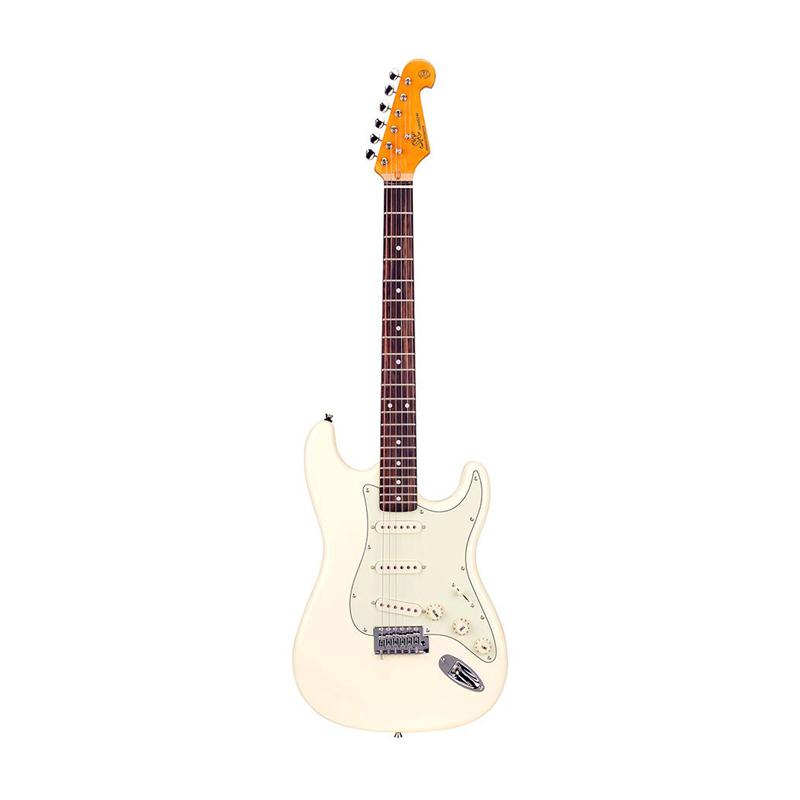 SX 62 vintage Style SST62-VWH Guitare électrique
