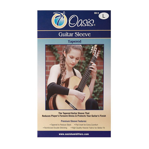 Oasis Oh-9 Padded Guitar Sleeve, Large