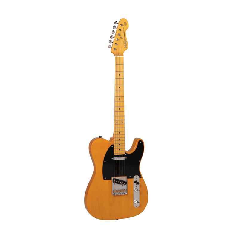 Vintage V52 Reissued,Butterscotch, guitare électrique-nl