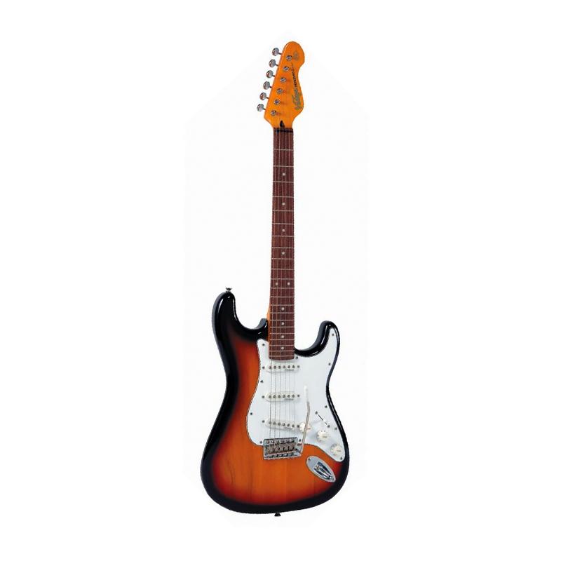 Vintage V6 Reissued, Sunset Sunburst, guitare électrique