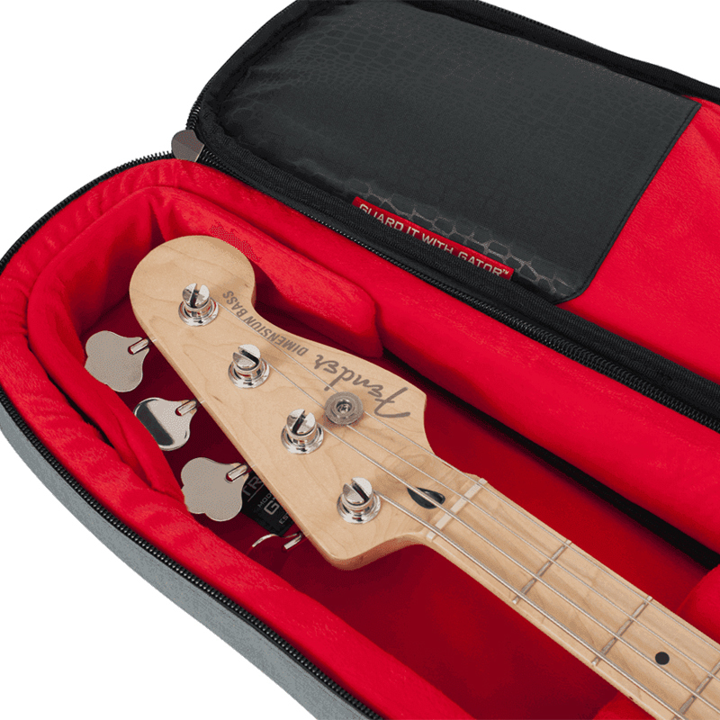 Gator GT-BASS-GRY housse pour guitare basse électrique