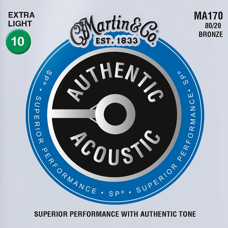 Martin Guitars MA170 Acoustic SP 80/20 Bronze Extra Light 10-47