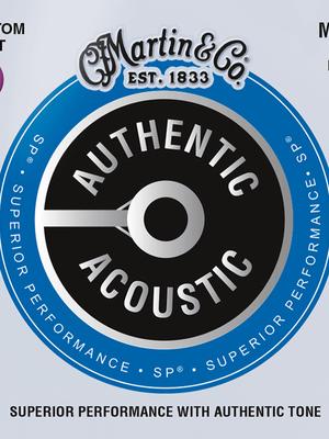Martin Guitars MA175 Acoustic SP 80/20 Bronze Custom Light 11-52